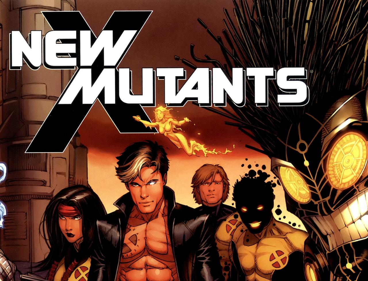 the new mutants Fox Movie Banner