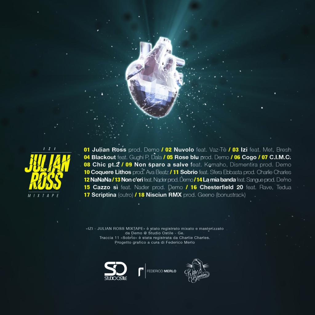 Izi - Julian Ross Mixtape Cover Retro