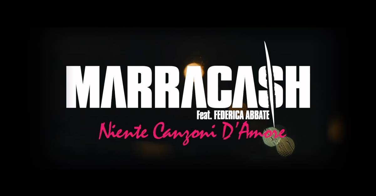 Niente canzoni d'amore Marracash