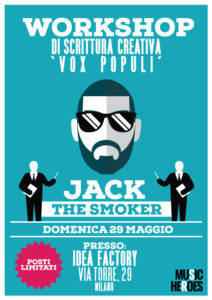 Jack The Smoker 'Vox Populi' Workshop Di Scrittura Creativa