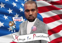 Kanye West Presidente USA 2020