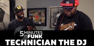 """Torna la serie """"5MinutesOfFunk"""" con Technician The DJ!"""