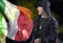 Eminem in concerto in Italia