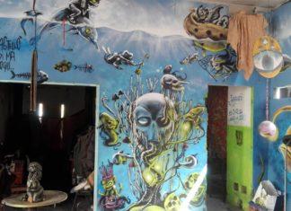 """Una giornata al """"Castello di Zakula"""", tra street art e storie di vita vera"""