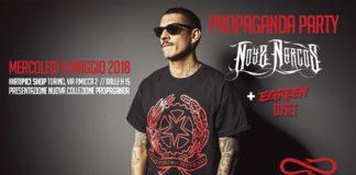 Mercoledì 09/05/2018 Noyz Narcos + Egreen (dj set) @ Atipici (Torino)