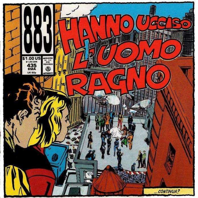 883 - Hanno ucciso l'uomo ragno (Album)