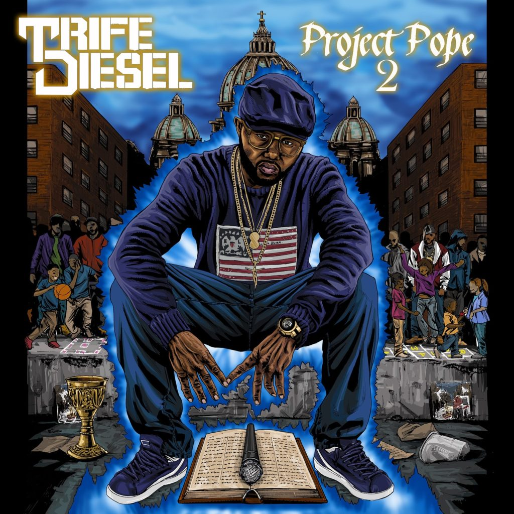 Trife Diesel Project Pope 2 official art