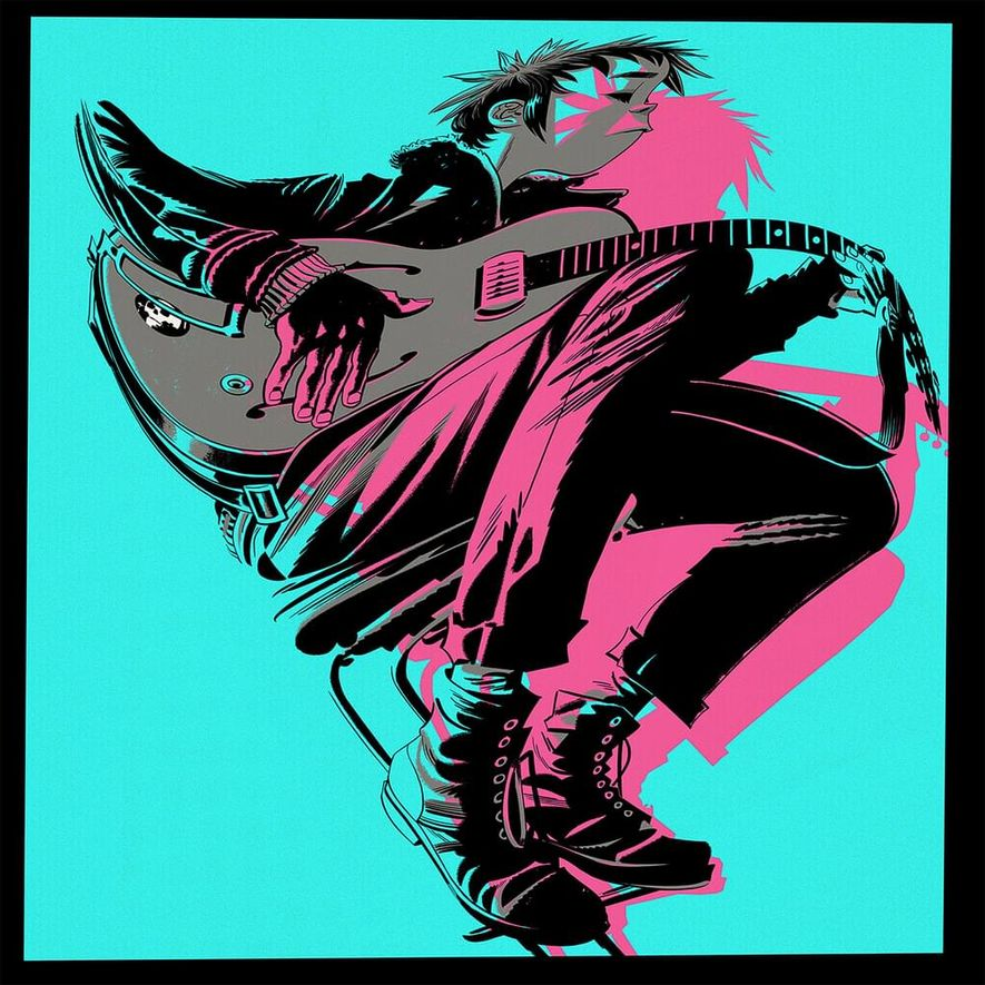 Gorillaz - The now now (Album)