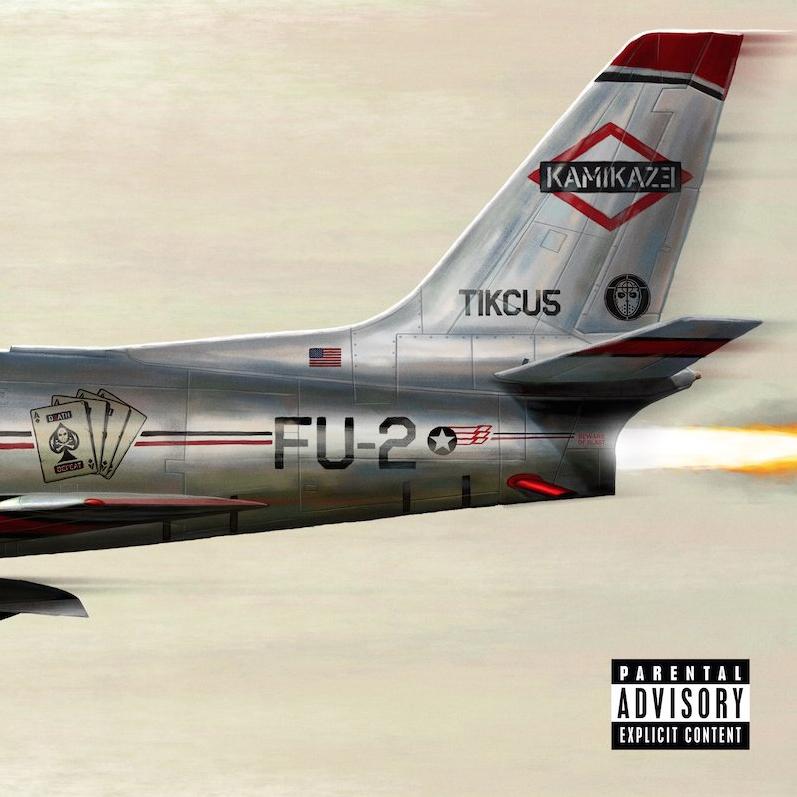 "Eminem - ""Kamikaze"" (2018) Cover"