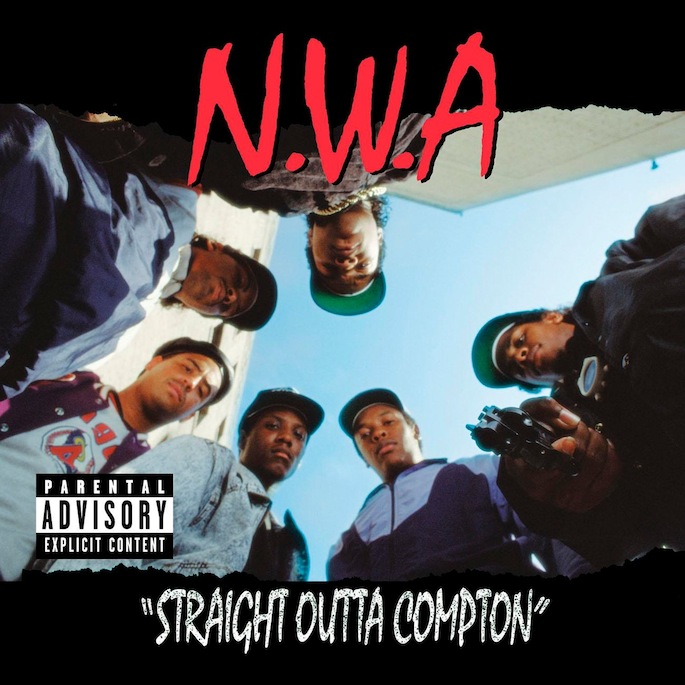 """N.W.A. - """"Straight Outta Compton"""" Cover"""