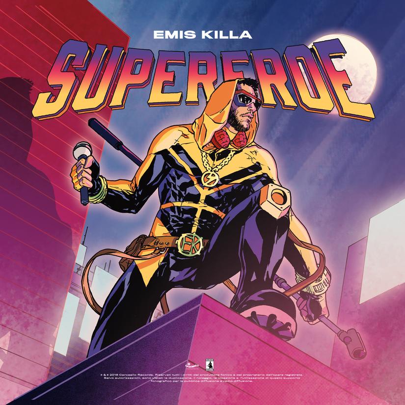 Emis Killa -Supereroe (Album Cover)