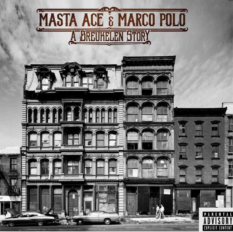 """Masta Ace & Marco Polo - """"A Breukelen Story"""" Cover"""