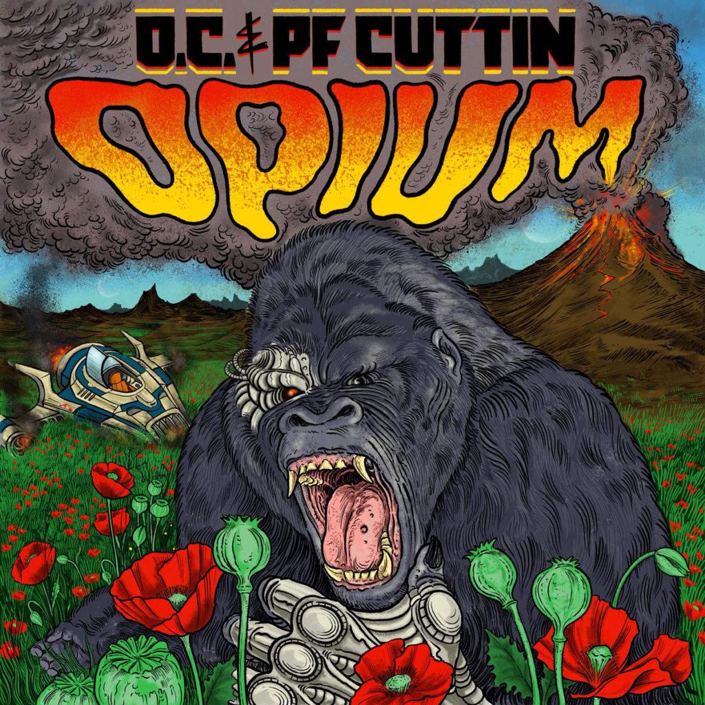 """O.C. + PF Cuttin - """"Opium"""" Cover"""