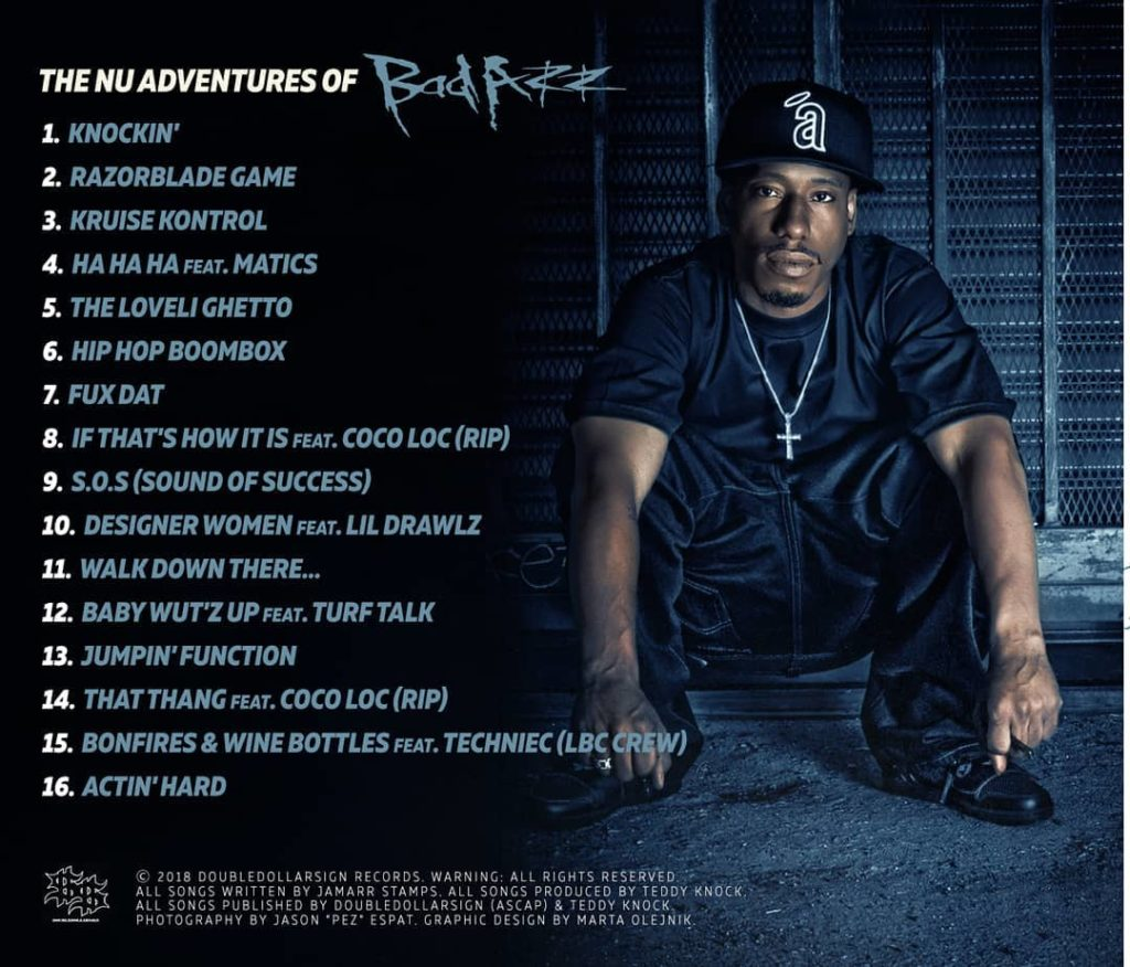 """""""The Nu Adventures Of Bad Azz"""" Back"""