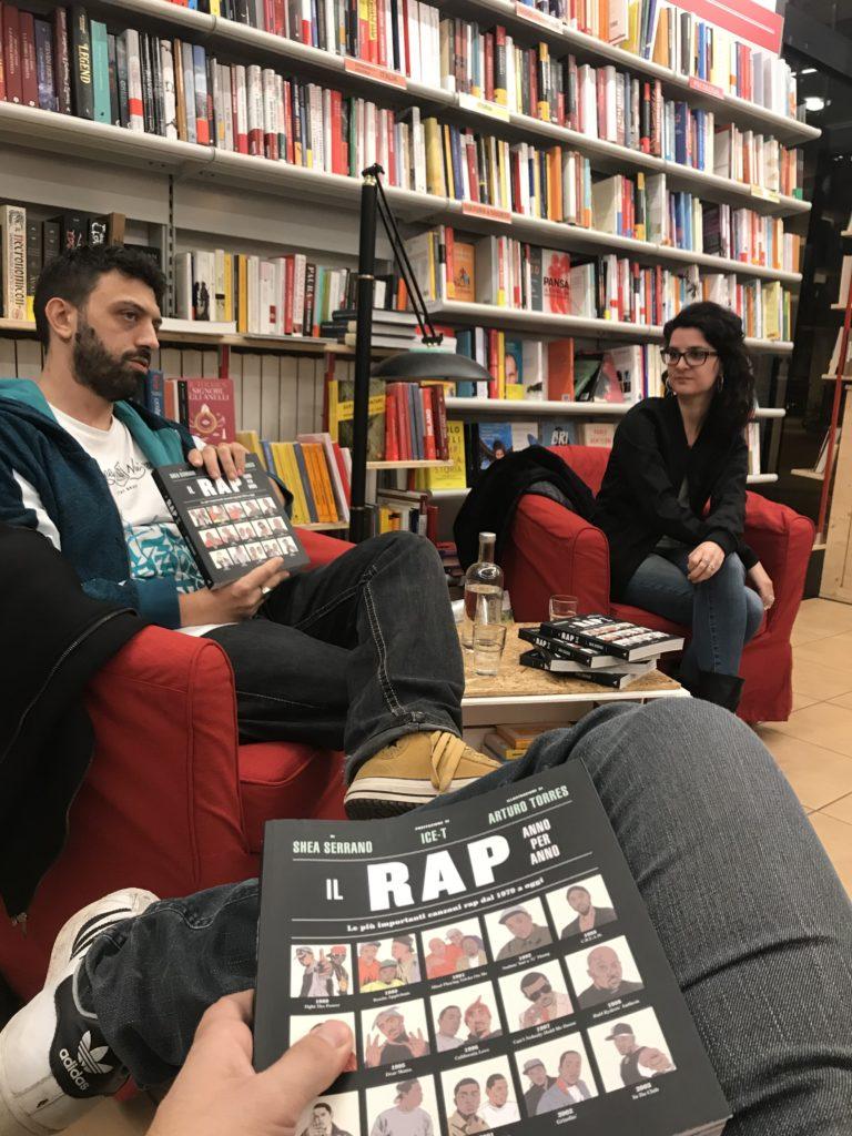 Matteo Villaci e Marta Blumi Tripodi durante la presentazione