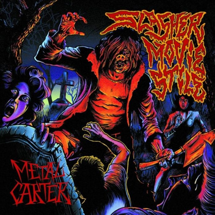 Metal Carter - Slasher Movie Stile (Copertina)