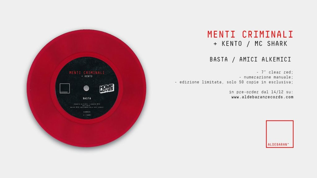 Menti Criminali - Aldebaran Records