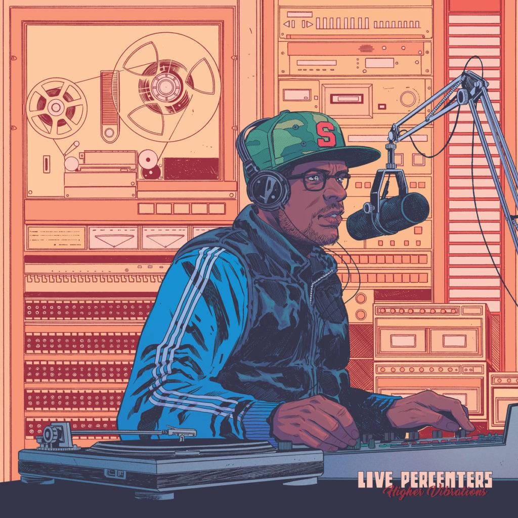 "Live Percenters - ""Higher Vibrations"" Cover"