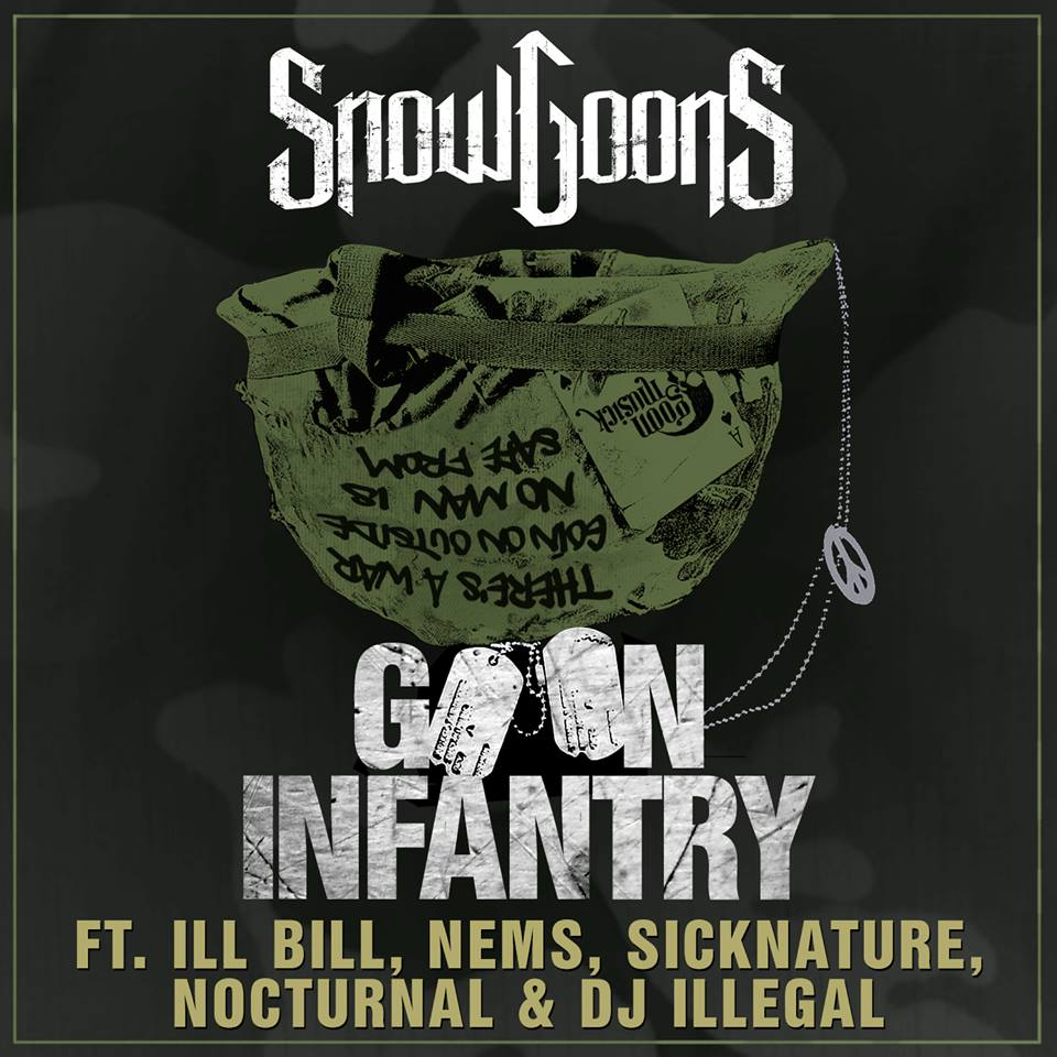 "Snowgoons - ""Goon Infantry"" Cover"