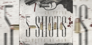 """38 Spesh - """"5 Shots (Samples of Raw)"""" Cover"""
