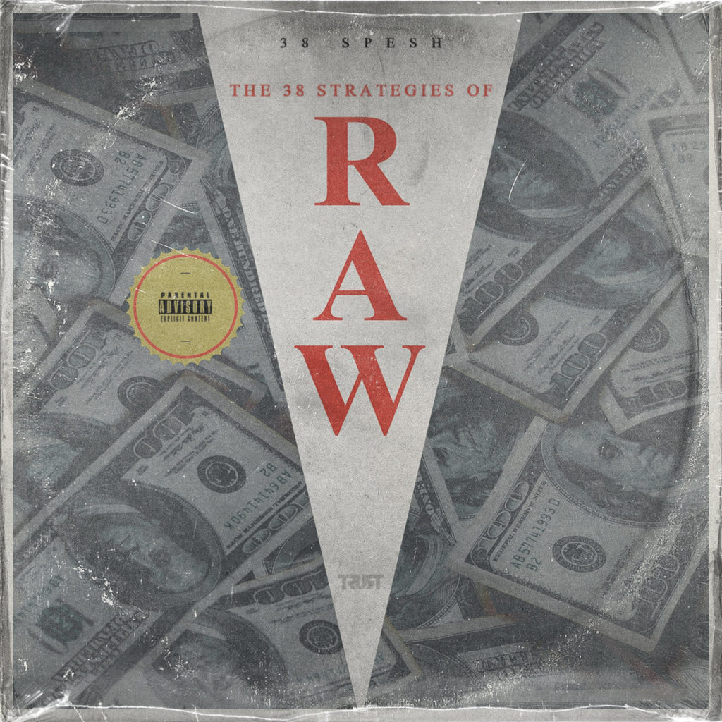 """38 Spesh - """"The 38 Strategies Of RAW"""" Cover"""