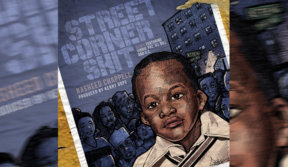 """Street Corner S*hit"" Cover"