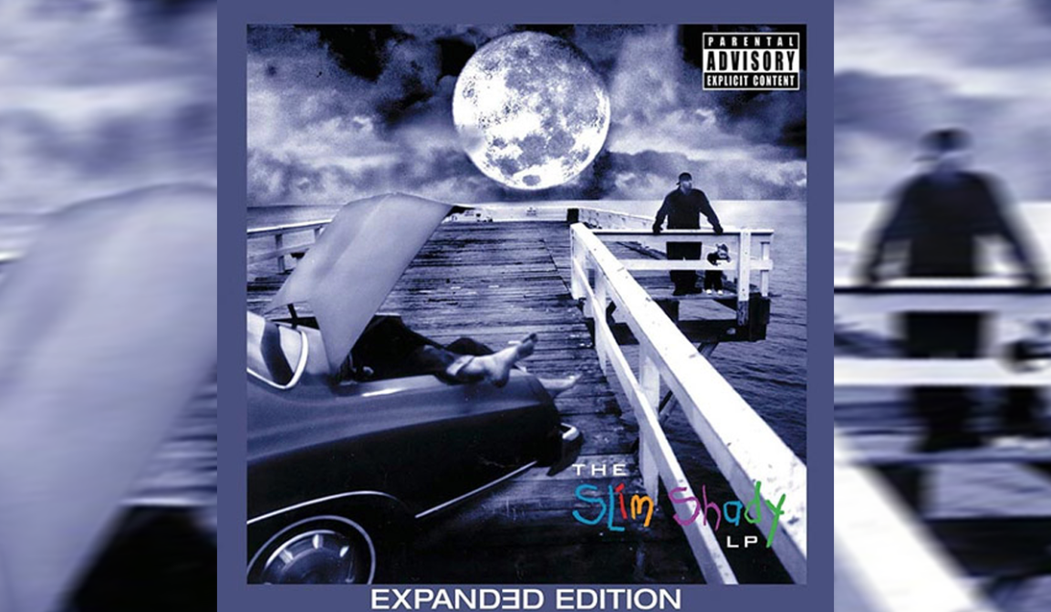 """The Slim Shady LP"" Extended Edition Cover"