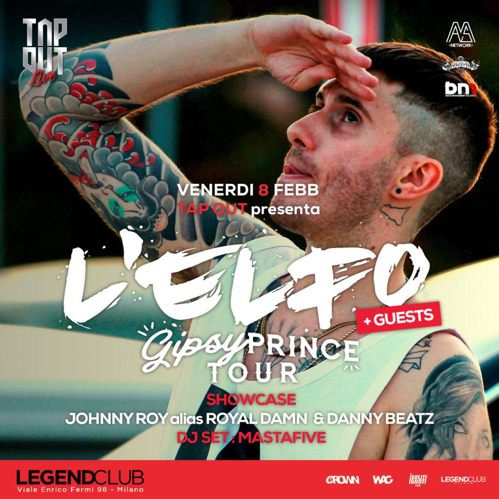 L'elfo l'8.02 al Legend (Milano)