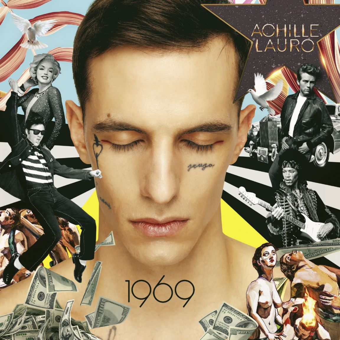 Achille Lauro - 1969 (Cover album)