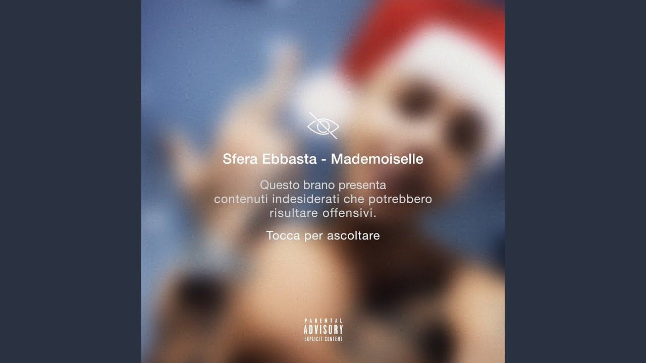 Sfera Ebbasta - Mademoiselle