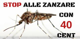 Come liberarsi dalle zanzare con soli 40 centesimi