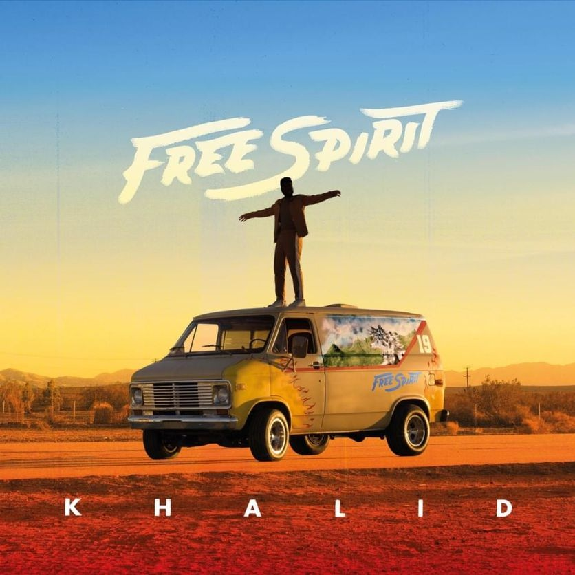 Khalid - Free Spirit (Album Cover)