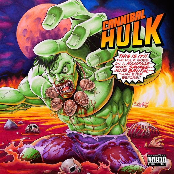 "Ill Bill & Stu Bangas - ""Cannibal Hulk"" Cover"