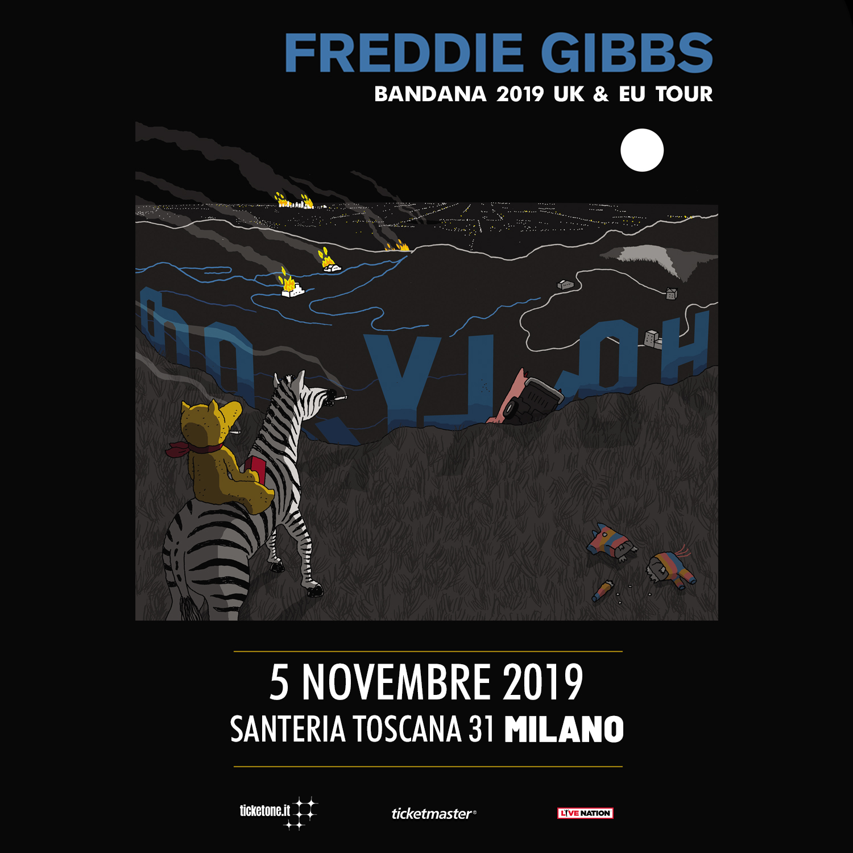 Freddie Gibbs 5 Novembre @ Santeria Toscana 31 – Milano