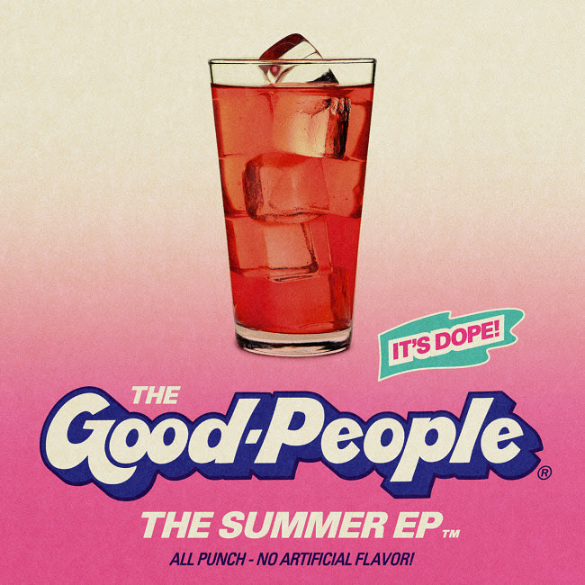 """The Good People - """"The Summer EP"""" Cover"""