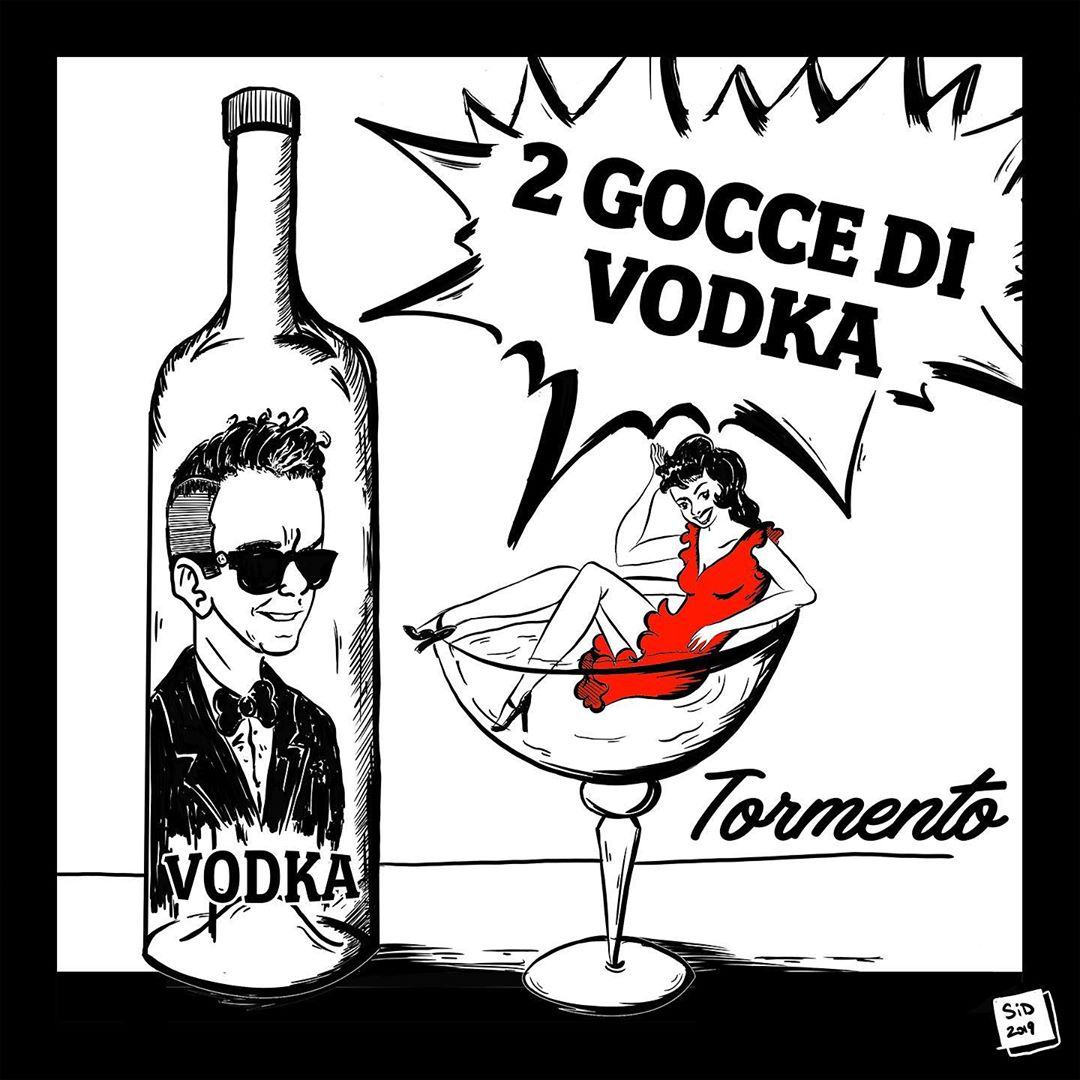 Tormento - 2 gocce di vodka (Cover singolo)