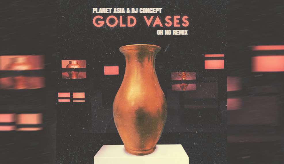 """Gold Vases Remix"" Cover"
