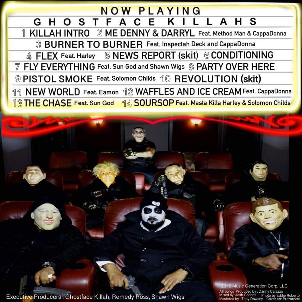"""""""Ghostface Killahs"""" Tracklist"""