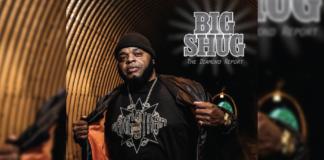 """Big Shug - """"The Diamond Report"""" Cover"""