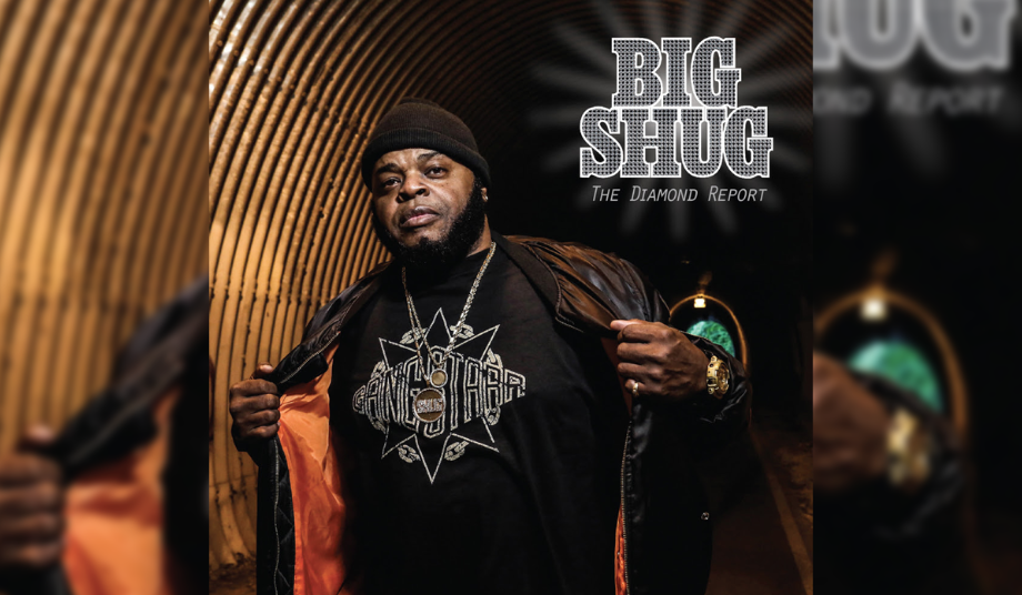 "Big Shug - ""The Diamond Report"" Cover"