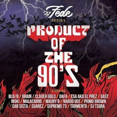 Product of the 90's (copertina)