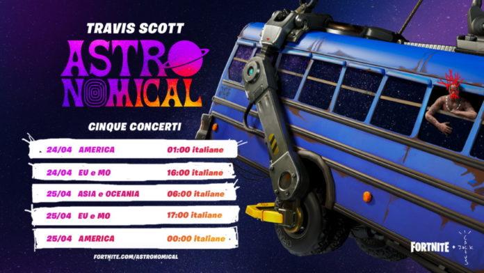 Travis Scott presenta la sua nuova canzone su Fortnite