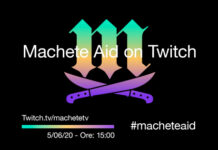 Machete Aid on Twitch 12 h live streaming, a supporto del settore musicale italiano