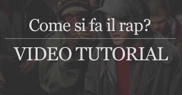 Ecco come si fa il rap