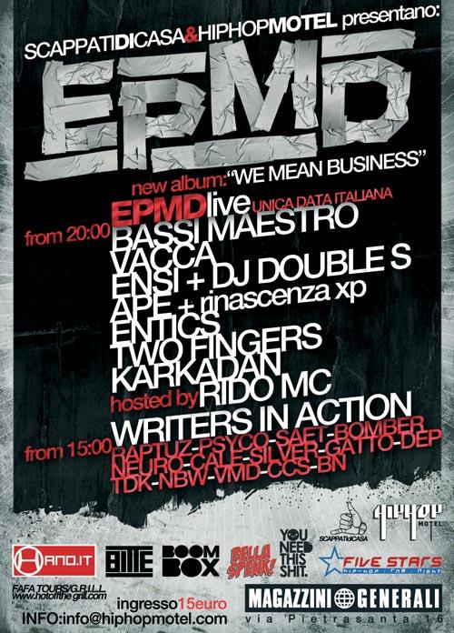 Epmd live a Milano - Magazzini Generali - 28 Giugno 2009