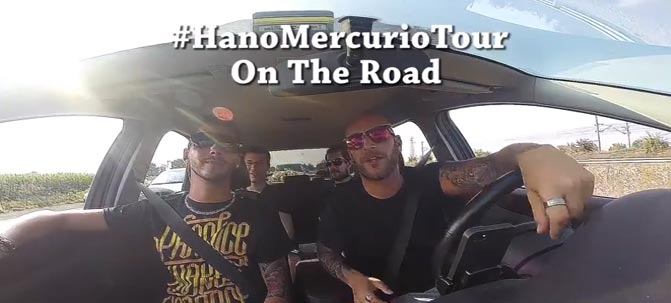 #HanoMercurioTour on the road