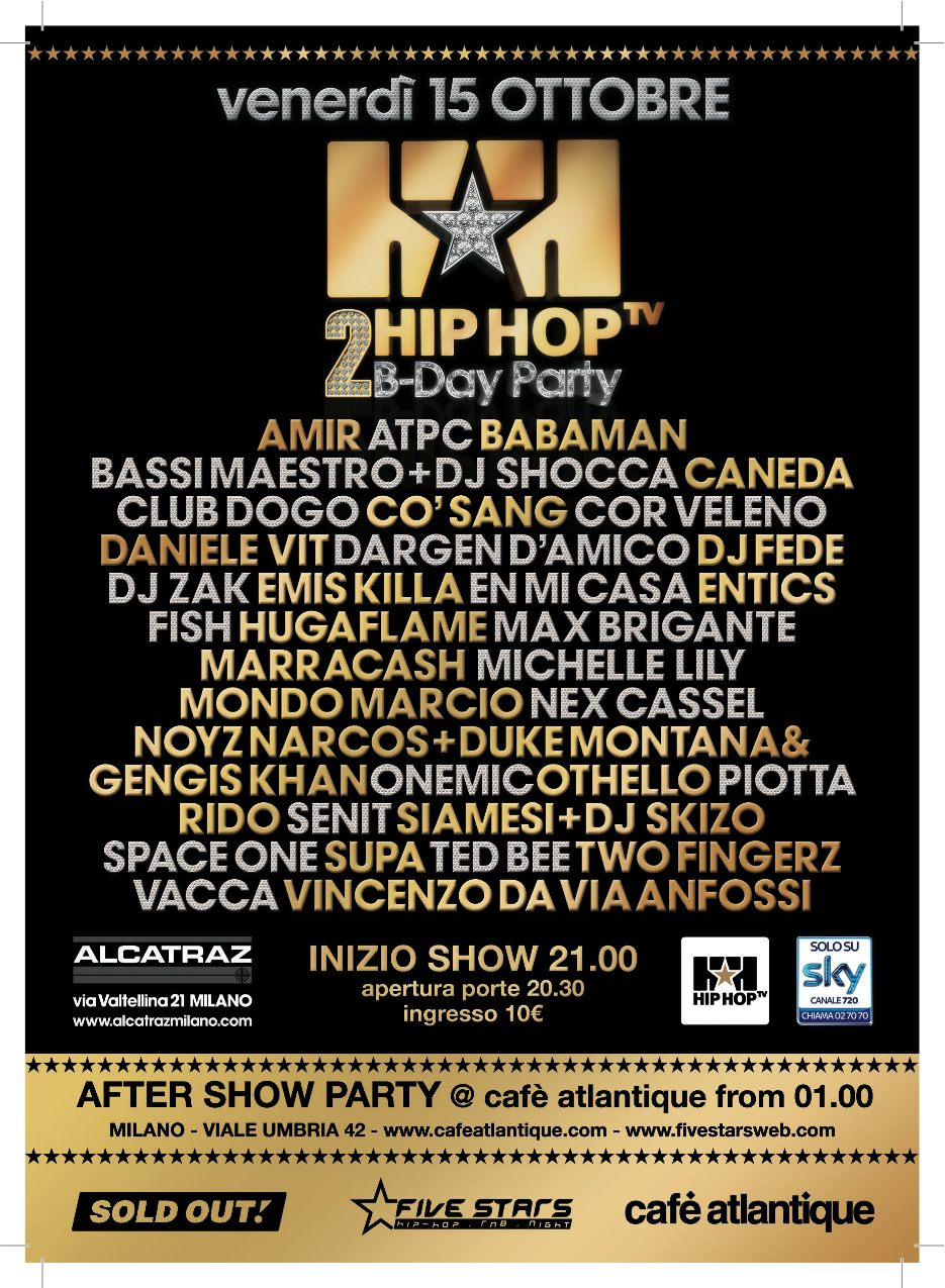 2nd hip hop tv birthday party