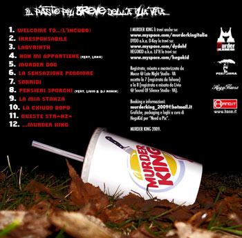 Murder King (Dydo & HegoKid) - Il pasto più breve della tua vita (download)